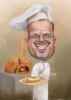 Baker caricature