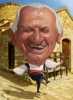 Greek Caricature for 80th Birthday